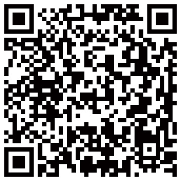 QR Code. A QR Reader can be downloaded for free.